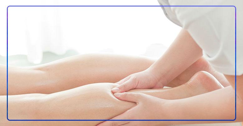 ماساژ درمانی در سندروم پای بی قرار